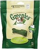 Greenies Mini Treat Pak 6-Ounce Canine Dental Chews for Adult Dogs, Teenie