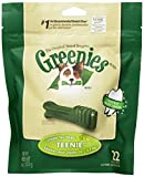 GREENIES Original Canine Dental Chews - TEENIE Treats Size - Mini TREAT-PAK Package (6 oz.) - 22 Count