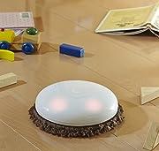 CCP 【MOPET】 拭き掃除専用ロボット掃除機 アロマ対応 「フェイスシール付き」 ショコラブラウン ZZ-MR4-BR