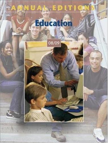 Annual Editions: Education 08/09