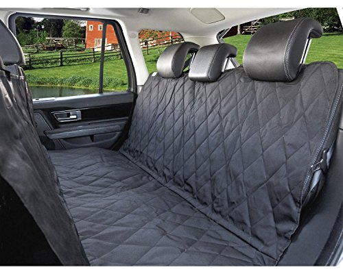 Dog Car Seat Cover, SCOPOW Waterproof Dog Hammock Slip-proof Travel Barrier Pet Seat Protector for Cars Truck SUV With Adjustable Seat Anchors And Seat Belt (Dog Truck Seat Protector compare prices)