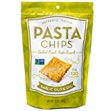 Pasta Chips, Garlic Olive Oil, 5 Ounce