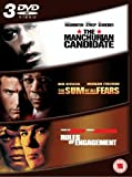 The Manchurian Candidate/Rules Of Engagement/The Sum Of All Fears [DVD]