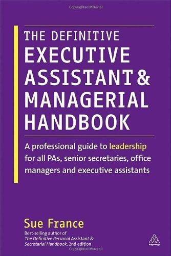 senior executive assistant resume