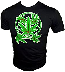 Vintage Mary Jane Pot Plant Party ringer 70's t-shirt