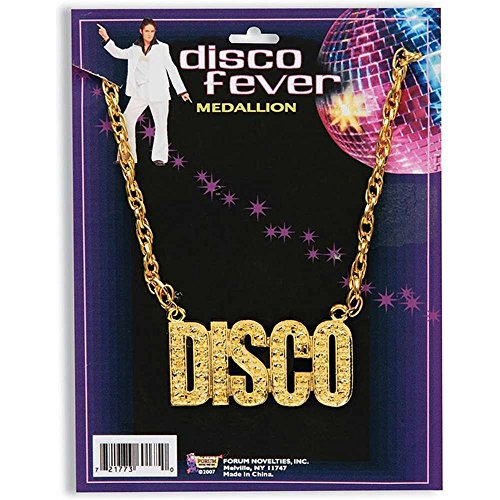 Disco Fever Costume Necklace - One Size