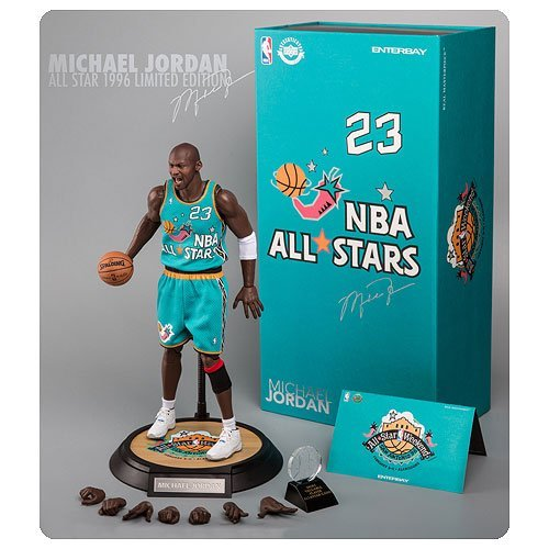 81a199a6985ea5 Buy For NBA Michael Jordan 1996 All-Star Game 1 6 Scale Real Masterpiece  Action Figure compare prices