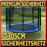 #7: Premium Netz 305 Ersatznetz Sicherheitsnetz Trampolinnetz für Trampolin 3,05