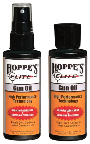 Hoppe's Elite Gun Oil, 4 oz. Bottle (Hoppe Oil compare prices)