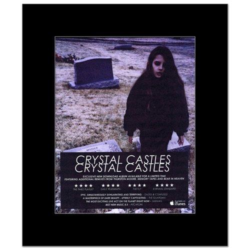 CRYSTAL CASTLES - Album - Reviews Matted Mini Poster - 30x24.2cm (Crystal Castles Poster compare prices)