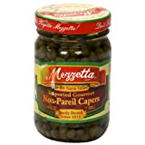Mezzetta Non-Pareil Capers, Imported Gourmet, 4-Ounce Jar (Pack of 12)
