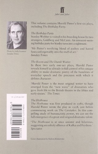 harold pinter a night out essay Harold pinter essays 3305 words   14 pages harold pinter harold pinter is one of the greatest british dramatists of our time pinter has written a number of absurd masterpieces including the birthday party, the caretaker, the homecoming, betrayal, old times, and ashes to ashes.