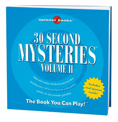 Spinner Books - 30 Second Mysteries Vol. II - 1