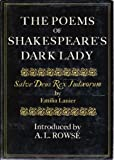 The Poems of Shakespeare's Dark Lady - Salve Deus Rex Judaeorum (0517537451) by Emilia Lanier