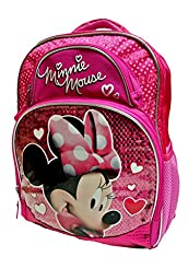 Minnie Mouse Deluxe Backpack By Fast Forward - Disney Junior Product