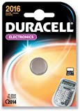 5 DURACELL 2016 Lithium Batteries CR2016 DL2016 ECR2016 Expiry 2021