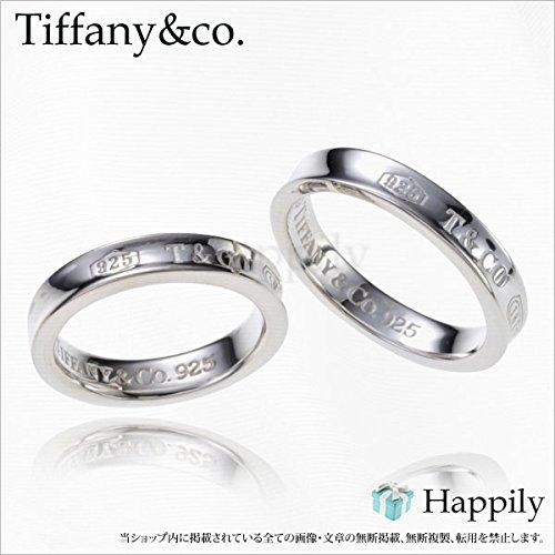 TIFFANY&Co. ティファニー 1837 ナローペアリング 6号~23号 [並行輸入品](ACC)
