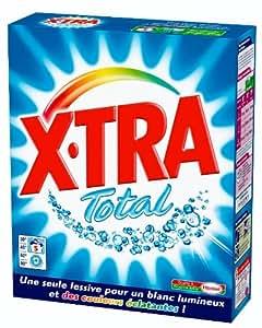 X Tra - Lessive en Poudre - Total - Boîte 350 g / 5 Lavages