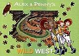 Alex & Penny's Wild West Jigsaw Book