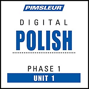Polish Phase 1, Unit 01 Audiobook