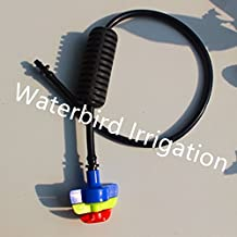 Generic Set C : 360Degree Rotary Hanging Assembly For Sprinkler Set Non Occluded Nozzle For Seedling Flower Watering...