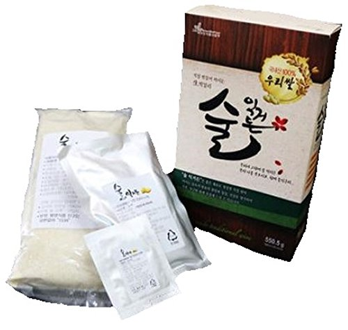 Fermentation DIY Kit For Korea Traditional Raw Rice Wine Makgeolli (Makgeolli Rice Wine compare prices)