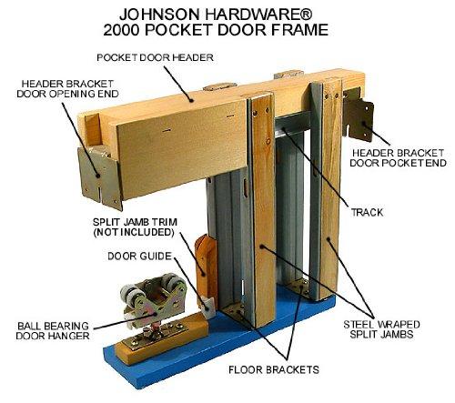 L.E. JOHNSON PRODUCTS 203068PF Pocket Door Frame (Johnson Pocket Door Frame compare prices)