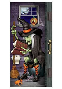 Witch Bathroom Cover by Beistle