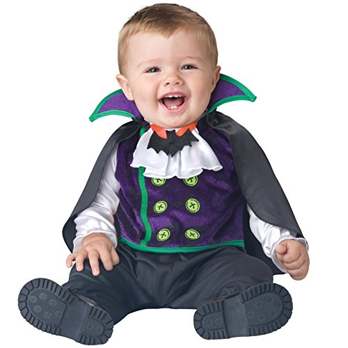 Totally Ghoul Toddler Baby Vampire Halloween Dress Up Costume