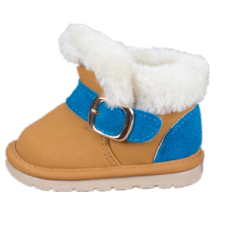 Winter Baby warm snow boots/Schneestiefel Kinder weiche untere Kleinkindschuhe Fashion niedliche Babyschuhe Schneeschuhe