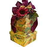 Art of Appreciation Gift Baskets   Fruitful Harvest Snacks Tower