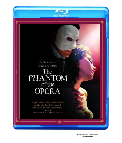 Cover art for  The Phantom of the Opera [Blu-ray]