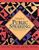 Principles of Public Speaking (16th Edition)