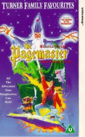 pagemaster-the-1993-vhs-1994