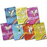 Rainbow Magic Pet Keeper Fairies Collection - 7 Books RRP £34.93 (29: Katie the Kitten Fairy; 30: Bella the Bunny Fairy; 31: Georgina the Guinea Pig Fairy; 32: Lauren the Puppy Fairy; 33: Harriet the Hamster Fairy; 34: Molly the Goldfish Fairy; 35: Penny the Pony Fairy)