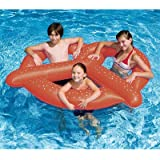 New Swimline 90640 Swimming Pool 3 Kids Giant Pretzel Inflatable Float Toy