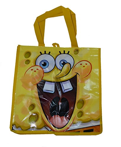 Sponge Bob Non-woven Tote Bag-Big Smile - 1
