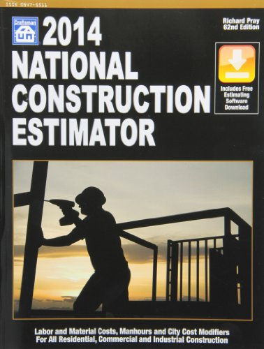 2014 National Construction Estimator (National Construction Estimator - Craftsman Book Co - 157218292X - ISBN: 157218292X - ISBN-13: 9781572182929