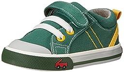 See Kai Run Tanner Sneaker (Toddler), Green, 4 M US Toddler