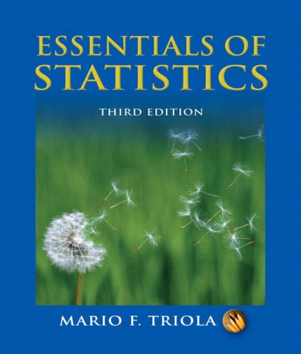 image of Essentials of Statistics (3rd Edition)