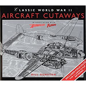 Classic World War II Aircraft Cutaways