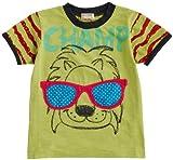 2014年夏物 CHILD CHAMP(チャイルド チャンプ) スラブ天竺アニマルサングラスTシャツ NO.C-86142115