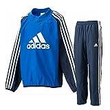 アディダス(adidas) ジュニア Boys ピステトップ&パンツ上下セット(ブルー/カレッジネイビー) DMF15-BQ0868-DMF13-BQ0862 150