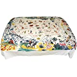 Vacationland Tablecloth United States Map Staycation