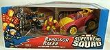 Marvel Superhero Squad Repulsor Racer with Figures - Iron Man and Cyclops