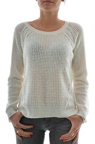 Le Temps des Cerises -  Maglione  - Donna bianco Large