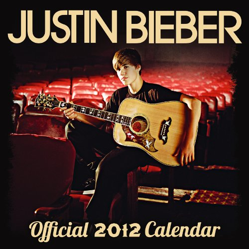 Justin Bieber 2012 FACES Mini Wall Calendar