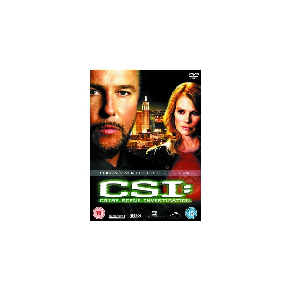 Csi Crime Scene Investigation 7.2 [DVD] Filme & TV