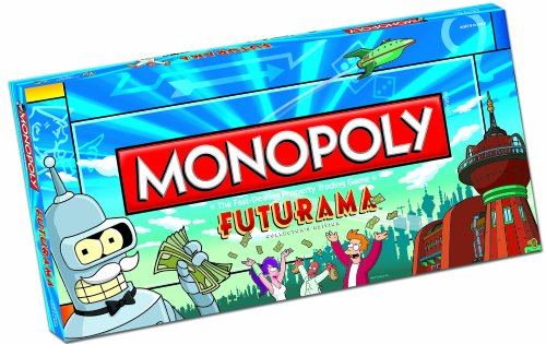 51RKAN pKKL Cheap Buy  Futurama Monopoly Collectors Edition