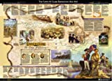 img - for Lewis and Clark and the Corps of Discovery Illustrated Wall Map book / textbook / text book
